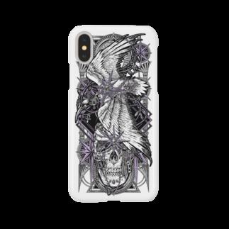 BLACKINK のTAROT - THE STAR. White Smartphone cases