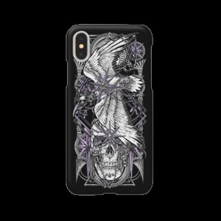 BLACKINK のTAROT - THE STAR. Black Smartphone cases