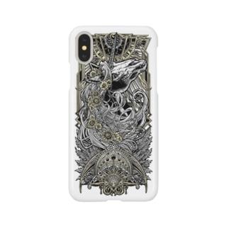 TAROT - THE SUN. White Smartphone cases