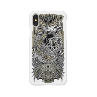 BLACKINK のTAROT - THE SUN. White Smartphone cases