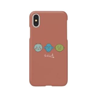 エイリアンたち iPhoneケース Smartphone cases