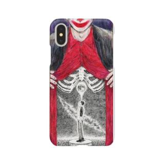 月夜の宴でピエロは笑う Smartphone cases