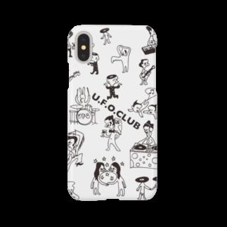 東高円寺U.F.O.CLUB webshopのU.F.O.CLUB オリジナルiPhoneケース Smartphone cases