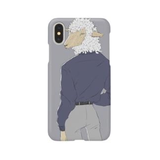 振り向き Smartphone cases