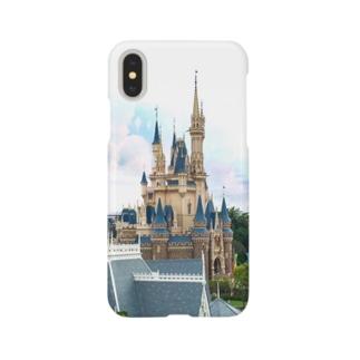 Disney castle Smartphone cases