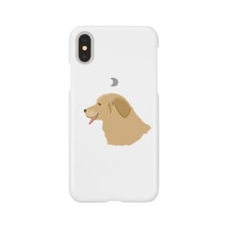 ぺろり犬 Smartphone cases