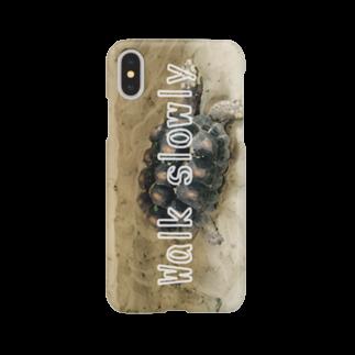 zikomanking SHOPのWalk slowly(スマホケース版) Smartphone cases