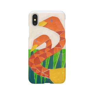 フラミンゴケース Smartphone cases