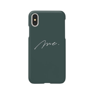 Me. (モスグリーン) Smartphone cases