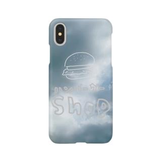 ハンバーガーショップ Smartphone cases