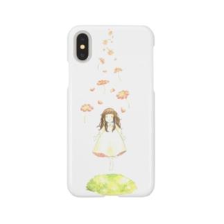 お花とすてきな世界へ Smartphone cases