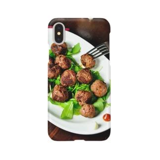 ミートボール Smartphone cases
