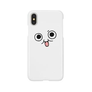 モチゾー(顔抜き小) Smartphone cases