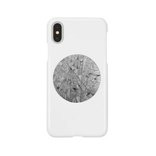 なこの幾何学模様 Smartphone cases