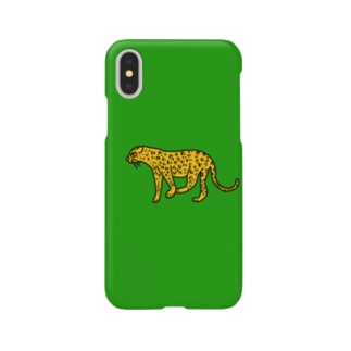 a_by_atelierのアニマル ヒョウくん Smartphone cases