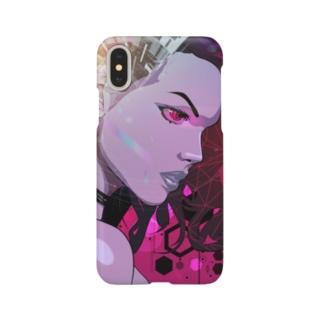 サイバースパイダー🕷(iPhoneX用) Smartphone cases