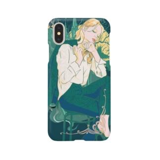 碧眼の妖精🧚♂️(iPhoneX用) Smartphone cases