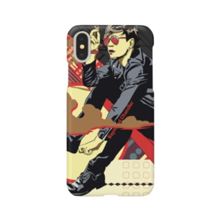 ハードボイルド(iPhoneX用) Smartphone cases