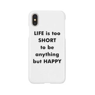 LIFE is too SHORT Smartphone cases