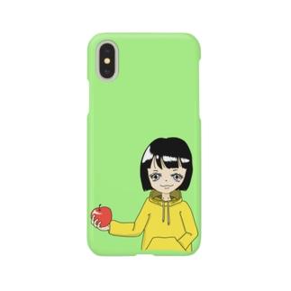 りんごガール Smartphone cases