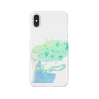 Love  corinの風の妖精 Smartphone cases