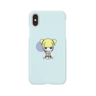 プラムちゃん Smartphone cases