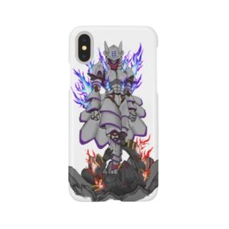 狐陣笠vs白尾 Smartphone cases