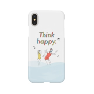 Think happy. with wave Smartphone cases