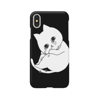 ぽろぽろネコ Smartphone cases