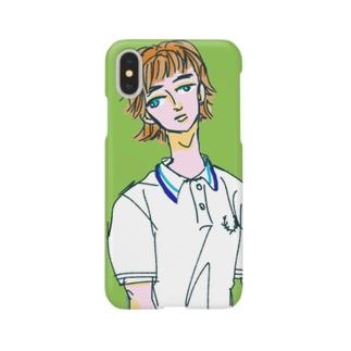 テニス部 Smartphone cases