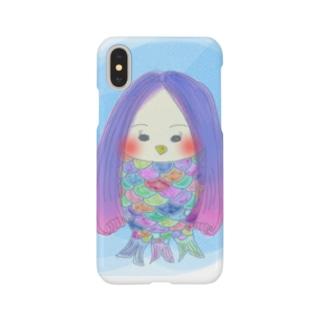 アマビエさまスマホケース Smartphone cases