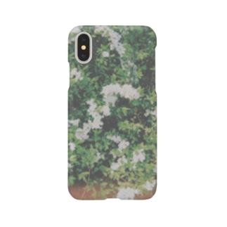 雪柳(ユキヤナギ) Smartphone cases