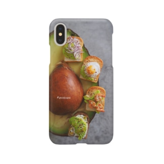 アボカドトースト4種 Smartphone cases