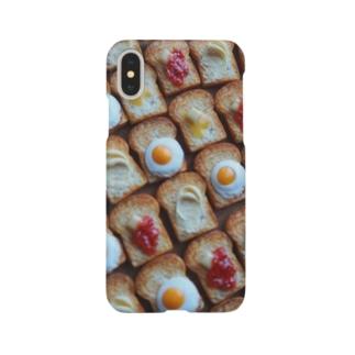 ちいさなトーストたくさん Smartphone cases