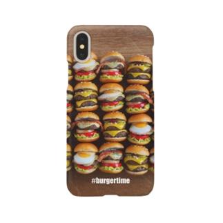Burgertime Smartphone cases