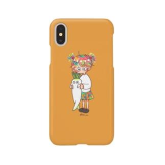 のびる Smartphone cases