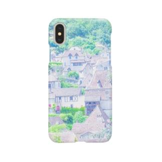草笛鈴 / RIN KUSABUEのフランスの美しい村  Smartphone cases