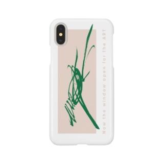 馬 uma-running-coralback design Smartphone cases