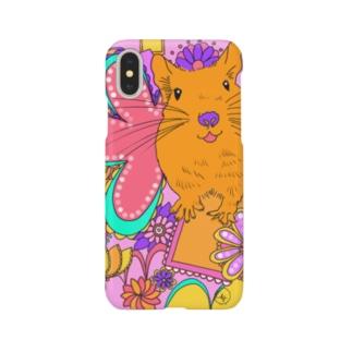 デグーのポップスマホケース Smartphone cases