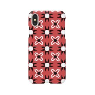 パンクな柄 Smartphone cases