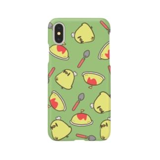 ひよこオムライス Smartphone cases