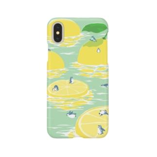 レモン氷山 Smartphone cases