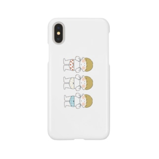 おぱんつきょうだい Smartphone cases