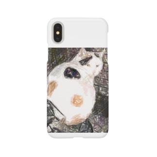 三毛猫のドットさん Smartphone Case