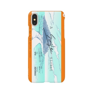 A single ticket Smartphone cases