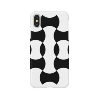 七宝と分銅繋ぎ Smartphone cases