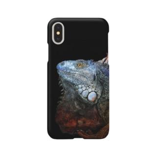 雅ーイグアナ Smartphone cases
