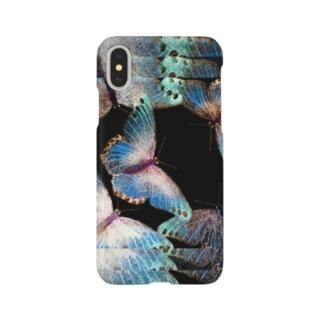蝶々 Smartphone cases