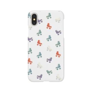 レトロ調ローラースケート Smartphone cases