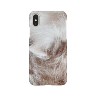 もふもふのスマホケース Smartphone cases